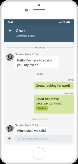 Youdowell Health Coaching Chat - Gesundheits-Coaching